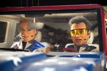 Una scena di Team America