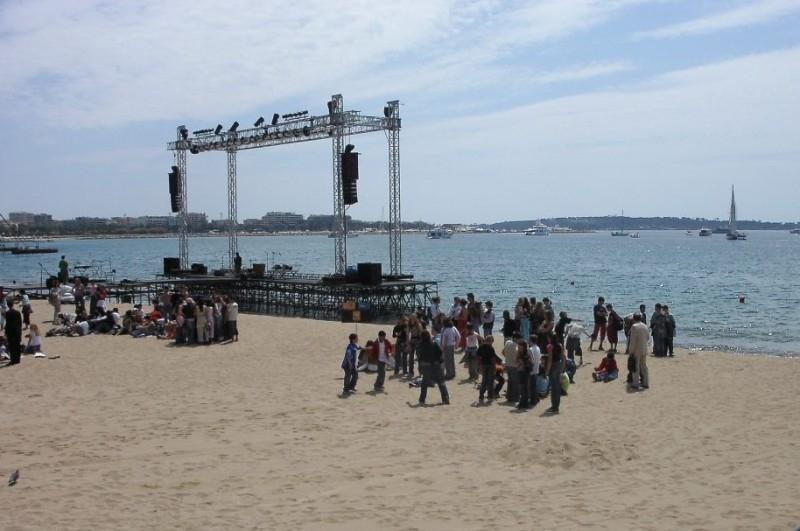 Festival de Cannes 2005: la spiaggia
