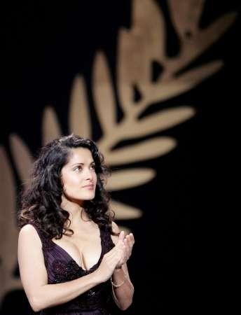 La bellissima giurata di Cannes 2005 Salma Hayek