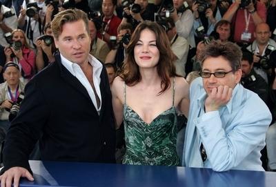 Val Kilmer, Michelle Monaghan e Robert Downey Jr. a Cannes per presentare il film Kiss, Kiss, Bang, Bang