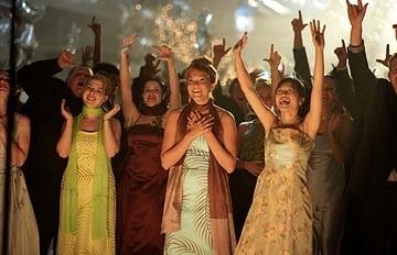 Heather Matarazzo, Mandy Moore e Elizabeth Thai in una scena di Saved!