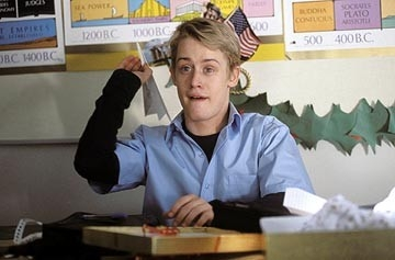 Macaulay Culkin in una scena di Saved!