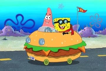 Una scena del film d'animazione SpongeBob il film