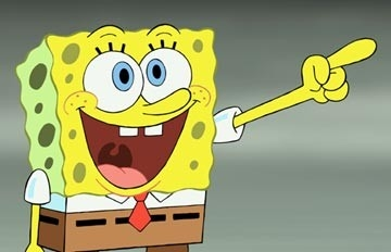 Il buffo protagonista di The SpongeBob SquarePants Movie