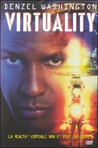 La copertina DVD di Virtuality