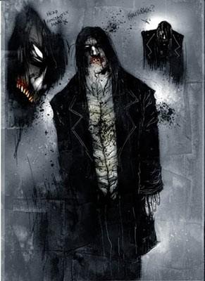 Un'illustrazione realizzata per Boogeyman