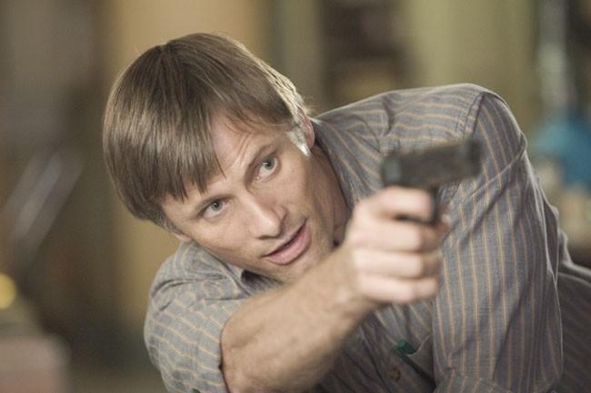 Viggo Mortensen in una scena del film A History of Violence