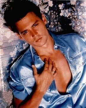 kitsch e glamour per Johnny Depp