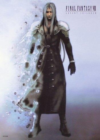 La locandina di Final Fantasy VII: Advent Children