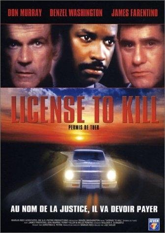 La locandina di License to kill