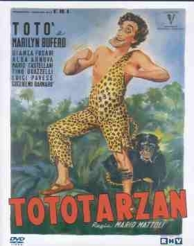 La locandina di Totò Tarzan