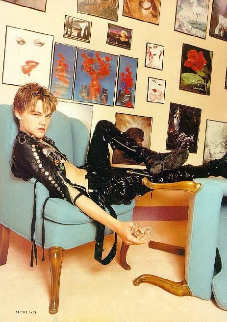 Un giovane Leonardo DiCaprio in versione sex-symbol