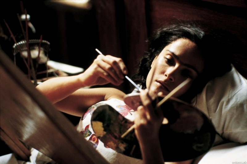 Salma Hayek nei panni della pittrice messicana Frida Kahlo