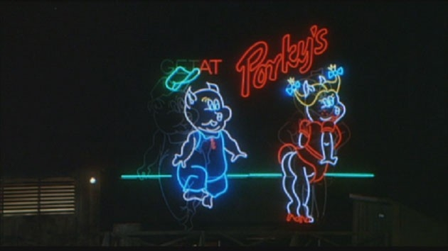 Una scena di Porky's