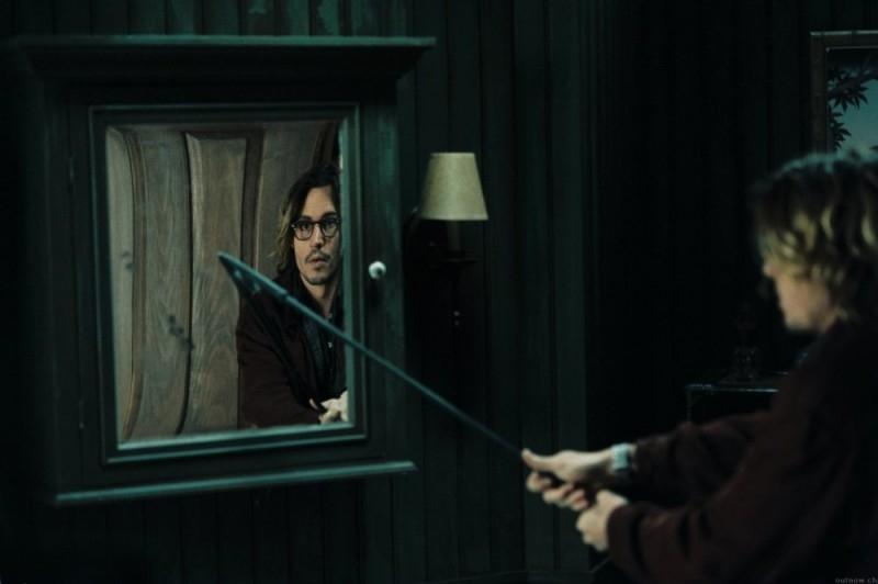 Johnny Depp in una scena di Secret Window