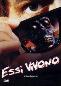 La copertina DVD di Essi Vivono