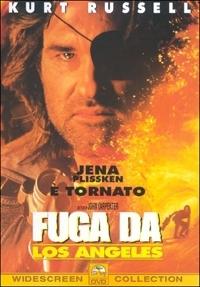 La copertina DVD di Fuga da Los Angeles