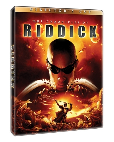 La copertina DVD di The Chronicles of Riddick - Director's cut