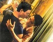 Leslie Cheung e Tony Leung Chiu Wai in una scena di Happy Together (1997)