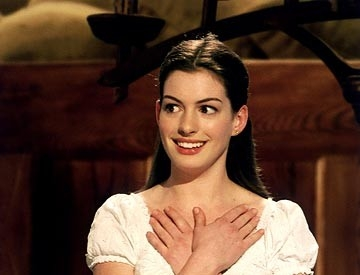 Anne Hathaway in una scena di Ella Enchanted