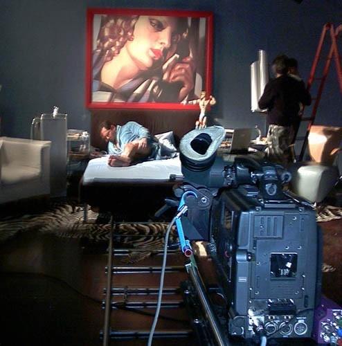 Franco Trentalance sul set di Uncut - Member Only nel quale il protagonista assoluto... è il suo membro!