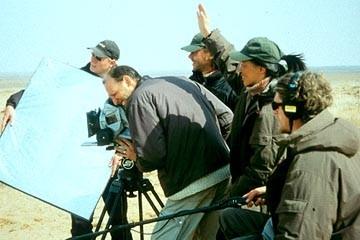 """I registi de """"la storia del cammello..."""" Luigi Falorni e Byambasuren Davaa"""