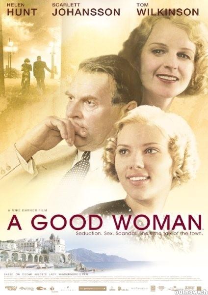 La locandina di A Good Woman
