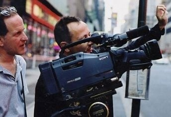 I registi Fanton Bailey e Randy Barbato mentre girano il documentario Inside Gola Profonda