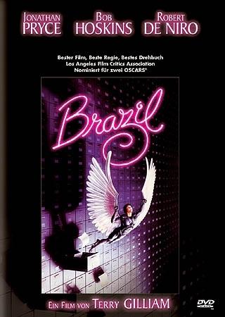 La copertina DVD di Brazil
