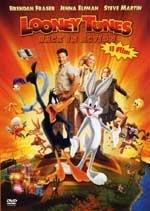 La copertina DVD di Looney Tunes Back In Action