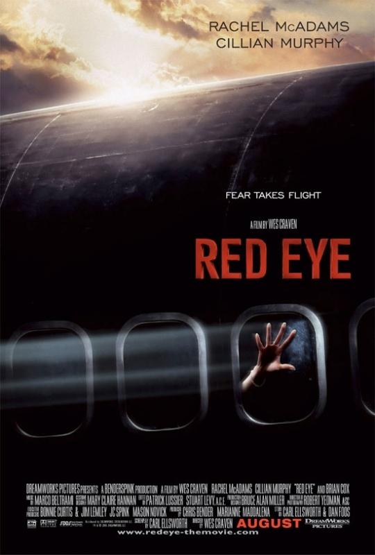 La locandina americana di Red Eye