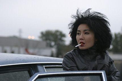 Maggie Cheung in una sequenza di Clean