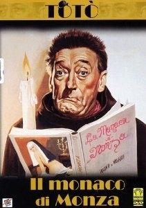 La copertina DVD di Il monaco di Monza