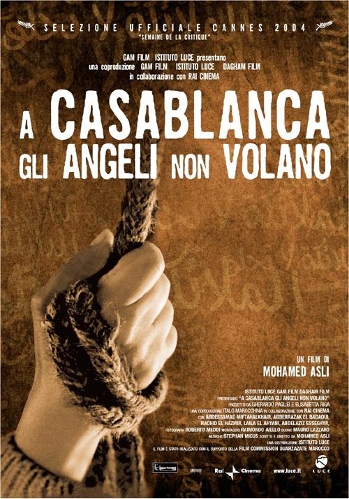 La locandina di A Casablanca gli angeli non volano