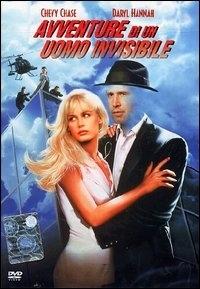 La copertina DVD di Avventure di un uomo invisibile