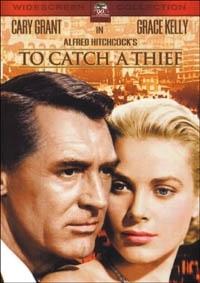La copertina DVD di Caccia al ladro