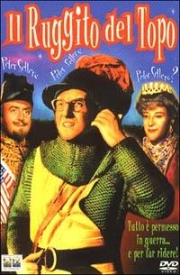 La copertina DVD di Il ruggito del topo