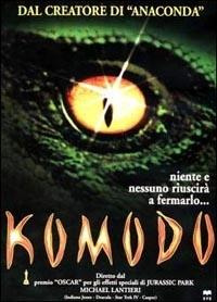 La copertina DVD di Komodo