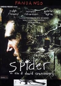 La copertina DVD di Spider