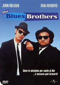 La copertina DVD di The Blues Brothers