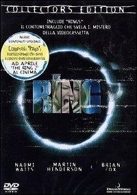 La copertina DVD di The Ring - Collector's Edition