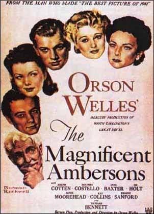 La locandina di L'orgoglio degli Amberson