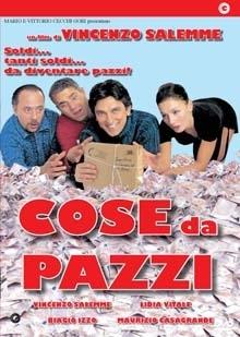 La copertina DVD di Cose da pazzi
