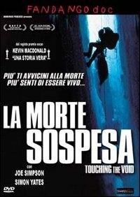 La copertina DVD di La morte sospesa - Touching the Void
