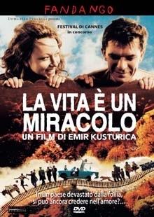 La copertina DVD di La vita è un miracolo