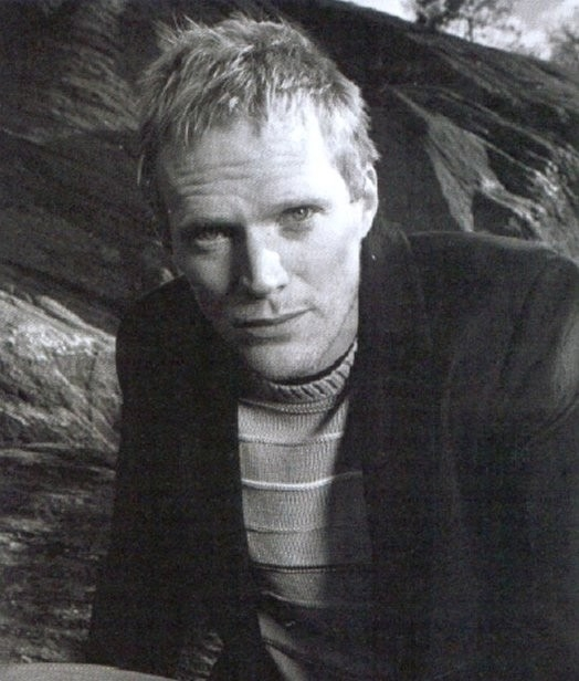 Paul Bettany in bianco e nero
