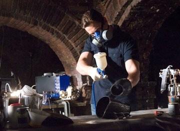 Christian Bale è il protagonista di Batman Begins
