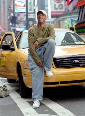 Il regista Tim Story sul set di New York Taxi