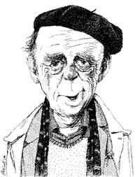 Una caricatura di Heinrich Böll