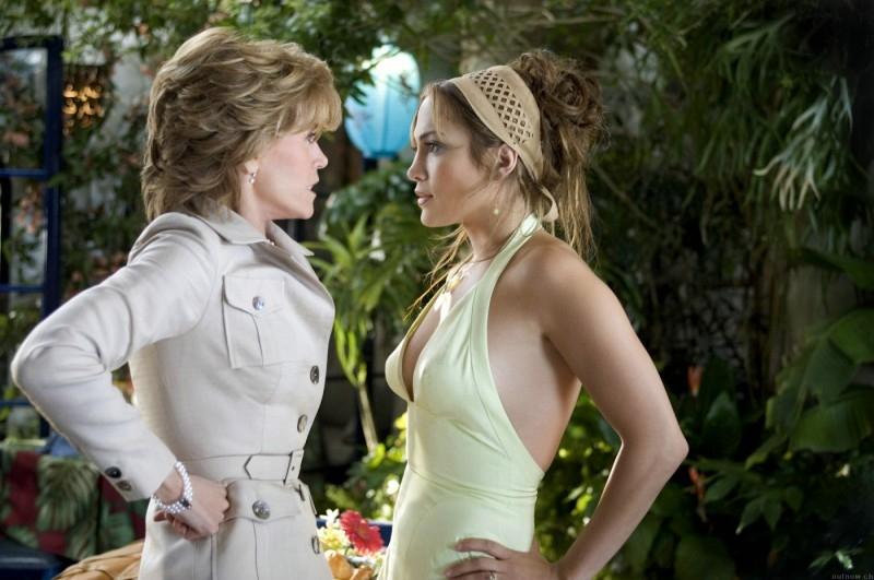 Jennifer Lopez affronta Jane Fonda in una scena di Quel mostro di mia suocera
